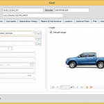 Fixed Assets general information connected to an asset 1