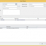 Fixed Assets post repair costs to assets straight from the vendor processing screen