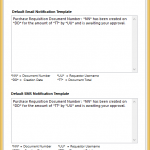 Purchase Order Approval notifications