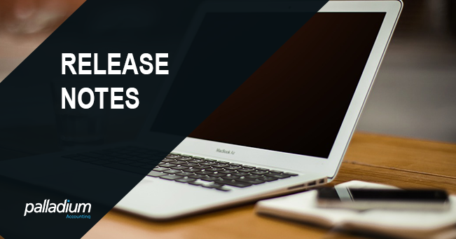 Release Notes – Palladium Enterprise 310.51